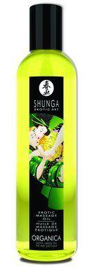 New - Erotic Massage Oil - Organica (Green Tea) Shunga