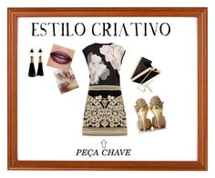 """""""ESTILO CRIATIVO"""" by luazevedo80 on Polyvore featuring Ted Baker, For Love & Lemons and H&M"""