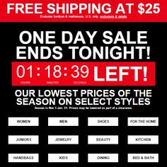 Last chance! Late-breaking specials + Free Shipping at $25 end tonight! https://freshpickeddeals.com/macys.com/last-chance-late-breaking-specials-free-shipping-at-25-end-tonight-735850