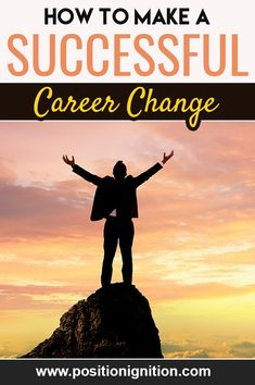Career Change is sometimes one of the only choices we have if we want to improve our professional life. It's usually annoying to think about it, but if you're not happy doing what you're doing, it's a milestone Career Change, New Career, New Job, Dead End Job, Be Confident In Yourself, Think Deeply, Job Fair, Future Jobs, Current Job