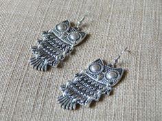 Owl Earrings Email shenbettridge@gmail.com