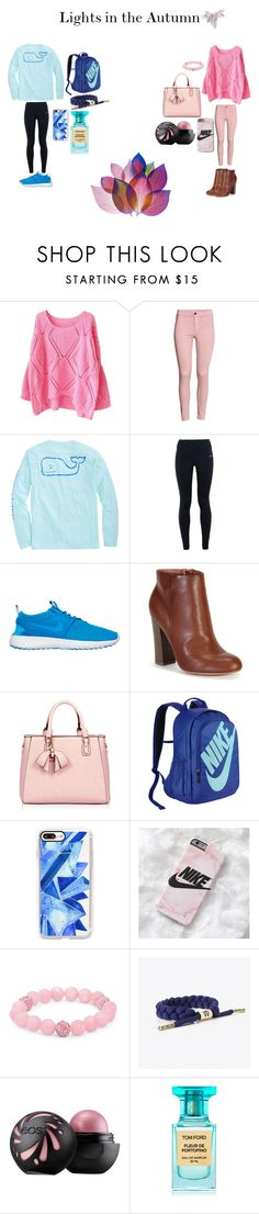 """""""Lights in the Autumn"""" by ruthannvogel ❤ liked on Polyvore featuring Vineyard Vines, NIKE, Bamboo, Casetify, Palm Beach Jewelry, Rastaclat and Tom Ford"""