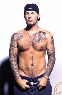Fred Durst is responsible for my love of men with tattoos