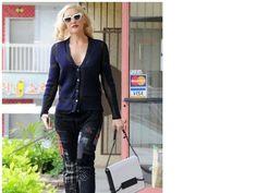 Gwen Stefani Cardigan and Pants