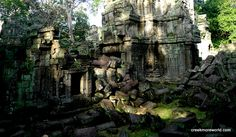 Every angle seems like a stunning picture.  Banteay Kdei, ANgkor Wat