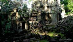 Every angle seems like a stunning picture.  Banteay Kdei, ANgkor Wat