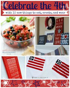 Ten 4th of July ideas to eat, create, and wear | remodelaholic.com #independenceday #america #4thofjuly @Remodelaholic .com .com
