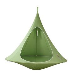 Hang-In-Out Double Cacoon in leaf green, £325, amara.com