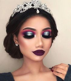 If you're going for a dramatic look, you may as well go all out! #eyeshadowslooks
