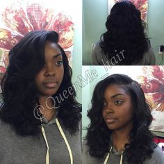 From a pixie cut to a one length short weave  who said your hair is too short to…