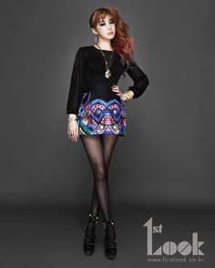 2ne1 Park Bom for 1st Look Korea August 2012