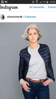 Grey White Hair, Grey Curly Hair, Silver Grey Hair, Curly Hair Styles, Grey Hair Inspiration, Gray Hair Growing Out, Wise Women, Going Gray, Hair Looks