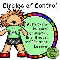 What are Things I Can & Can't Control: Anxiety & Anger Counseling