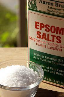 Homestead Revival: Healing Epsom Salt Good ideas with great link.