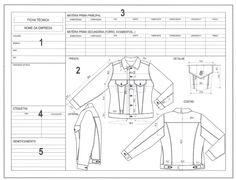 Ficha técnica de moda: da modelagem à produção - Industria Textil e do Vestuário…