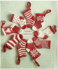 You could make these DIY stockings with any size sock.