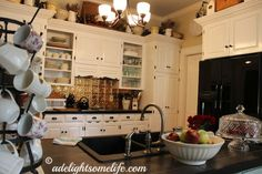 My Delightsome Kitchen - DIY kitchen decorating