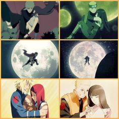 Minato and Kushina <3  Naruto and Hinata <3