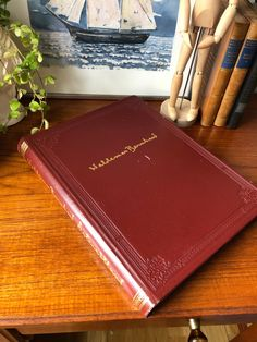 Excited to share this item from my shop: Waldemar Bernhard leather bound book collection of 50 prints hardcover Stockholm Sweden