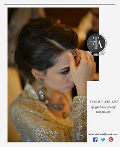 Farah Talib Aziz Behind the scenes - Photo shoot with Ali Khurshid of FTA's Bridal Couture collection. #behindthescenes #bridalcouture #bridalphotoshoot