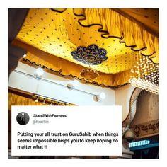Gurbani Quotes, Qoutes, Harmandir Sahib, Golden Temple Amritsar, Makeup Brushes, Trust, Instagram, Quotations, Quotes