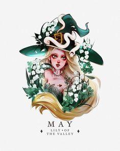 Fantasy Witch, Witch Art, Fantasy Art, Character Art, Character Design, Yandere Anime, Sad Art, Zodiac Art, Digital Art Girl
