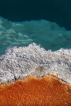 Yellowstone Thermal Pool✞God Created the Heavens & the Earth Genesis 1:1✞
