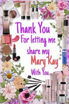 Thank you! Mary Kay