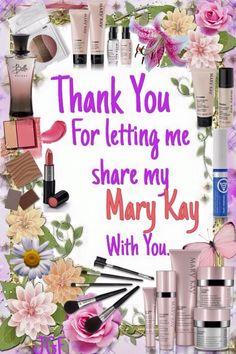 Thank you! Mary Kay