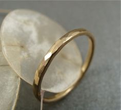 simplicity 14k gold ring