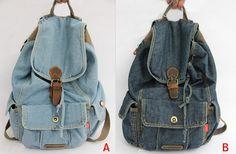 mochilas jeans escolares - Pesquisa Google