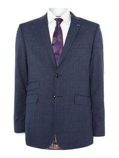 Buy: Men's Ted Baker Drain Slim Fit Check Jacket, Blue for just: £290.00 House of Fraser Currently Offers: Men's Ted Baker Drain Slim Fit Check Jacket, Blue from Store Category: Men > Suits & Tailoring > Suit Jackets for just: GBP290.00