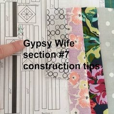 It's been a while since I have done any sewing, but I managed to get section 7 of Gypsy Wife ticked off my list this week. Tips on the blog for anyone interested  #gypsywifequiltalong2016