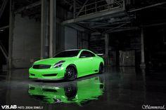 Green Goblin Infiniti G35 Coupe