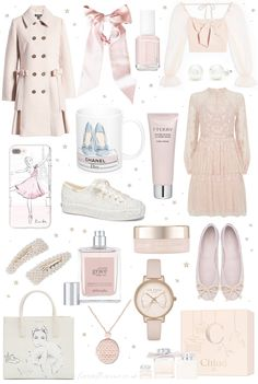The Ultimate Princessy Christmas Gift Guide - Love Catherine Girly Outfits, Cute Outfits, Fashion Outfits, Rock Outfits, Pink Fashion, Estilo Girlie, Princess Gifts, Classy Aesthetic, Pretty Ballerinas