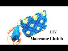 Macrame Clutch New Design 2018 | Macrame Art - YouTube