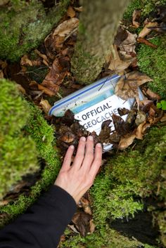 geocaching-- such a unique date idea! basically a real-time GLOBAL treasure hunt!