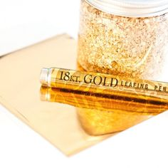 Everything is coming up GOLD this season. Here are some tips on how to get the look with transfer foil & glue. Great for lots of crafts.