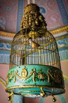 .antique birdcage