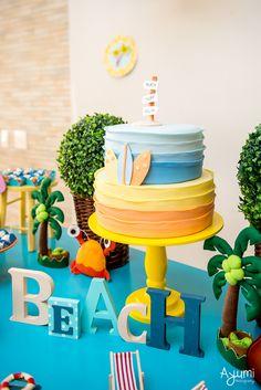 Happy Birthday Girls, Luau Birthday, 1st Boy Birthday, Boy Birthday Parties, Mickey Birthday, Kids Birthday Themes, Kids Beach Party, Aloha Party, Pool Party Images