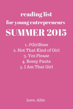 Check out my review of Sophia Amoruso's #Girlboss at www.allixwilliamson.com