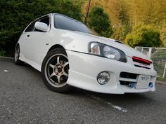 Toyota Starlet, Gt Turbo, Small Cars, Old School, Wheels, Vehicles, Baby, Motorbikes, Car
