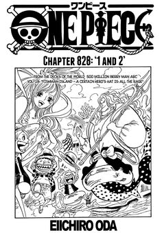 Shintigercurl reads One piece, Chapter 828: 1 and 2