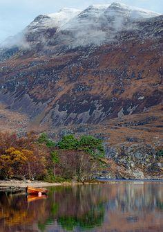 Beneath Slioch Mountain, Loch Maree, Scotland