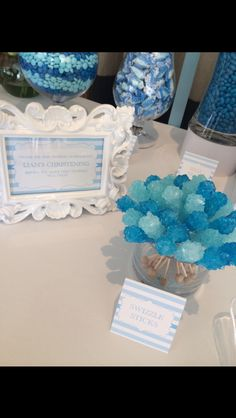 Lolly table / Lolly buffet / Candy station / Boys christening