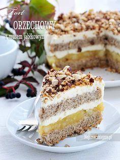 Polish Desserts, Polish Recipes, No Bake Desserts, Delicious Desserts, Yummy Food, Slovak Recipes, Czech Recipes, Sweet Recipes, Cake Recipes