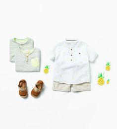 Such a cute outfit for your little man from baby Zara.