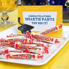 High School Graduation Decoration Ideas   this idea graduation supplies in blue graduation supplies in yellow