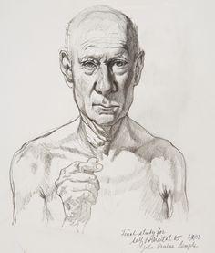 """Final Study for Self Portrait."" Pencil on paper, 10 x 8 in. Graphic Artwork, Artwork, Self Portrait, Male Sketch"