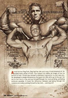 Arnold Schwarzenegger Olympia Training Secrets of the Oak